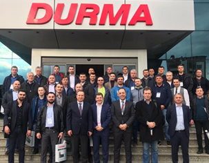 Open House DURMA Тур 2019 на завод DURMAZLAR в Турции